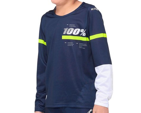 100% R-Core Youth Jersey (Blue) (Youth M)