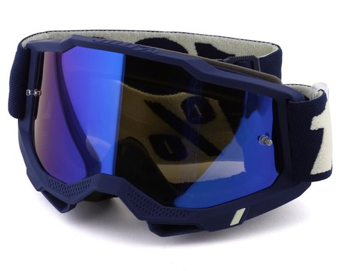 100% Accuri 2 Goggles (Deepmarine) (Mirror Blue Lens)