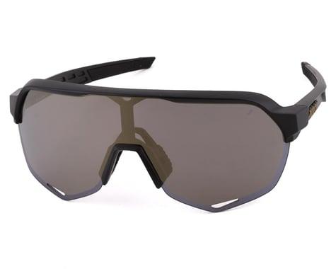 100% S2 Sunglasses (Matte Black) (Soft Gold Mirror)