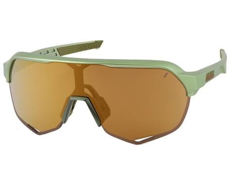 100% S2 Sunglasses (Matte Metallic Viperidae) (Bronze Multilayer Mirror Lens)
