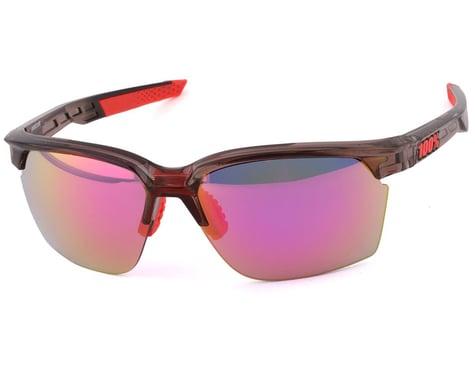 100% Sportcoupe Sunglasses (Polished Translucent Crystal Smoke)
