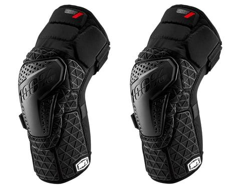 100% Surpass Knee Guards (Black) (XL)