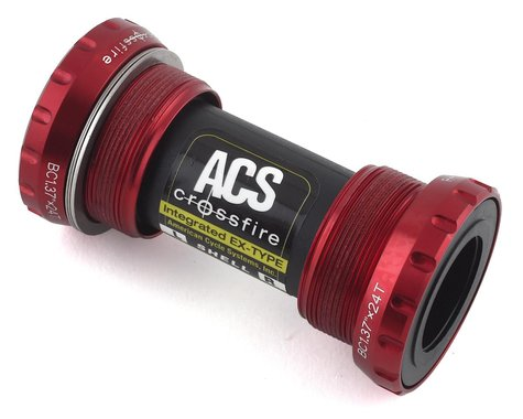 ACS Crossfire External Bottom Bracket (Red)