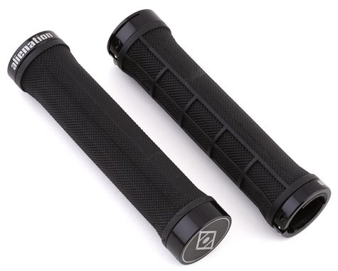 Alienation Moto II Lock-On Grips (Black) (Pair)