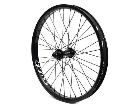 Animal Javelin Front Wheel (Black) (20 x 1.75)