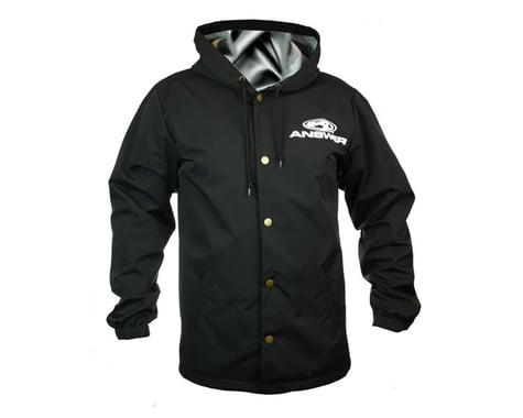 Answer Hooded Windbreaker (Black) (Button Up) (2XL)