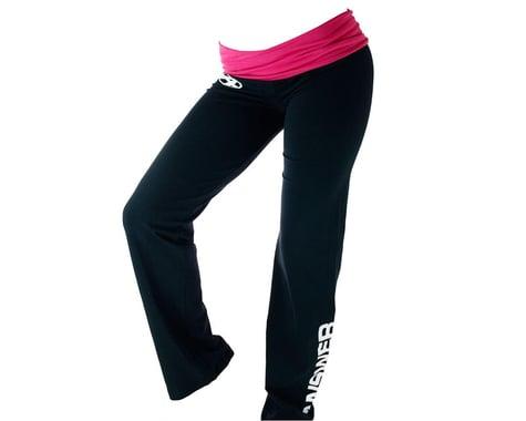 Answer Ladies Yoga Pants (Pink/Black) (L)