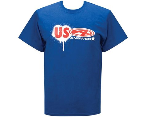 Answer USA T-Shirt (Blue) (2XL)