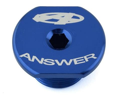 Answer Dagger Fork Bolt (Blue) (21 x 1.5mm)