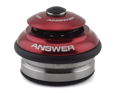 """Answer Integrated Headset (Red) (1-1/8"""")"""