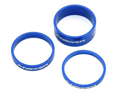 """Answer Alloy Spacer (Blue) (3 Pack) (1"""")"""
