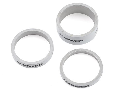 """Answer Alloy Spacer (White) (3 Pack) (1"""")"""
