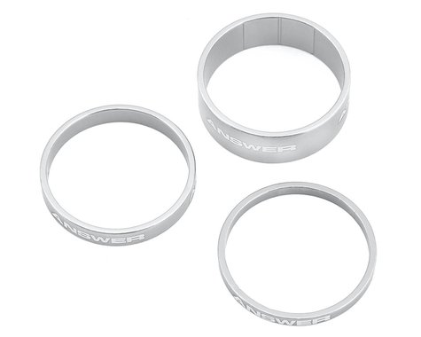 """Answer Alloy Spacer (Polished) (3 Pack) (1-1/8"""")"""
