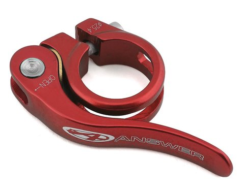 Answer Quick Release Seat Clamp (Red) (25.4mm)