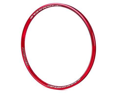 Answer Pinnacle Pro Rim (Red) (24 x 1.75)