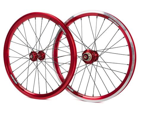 """Answer Holeshot Expert Wheelset (Red) (20"""")"""