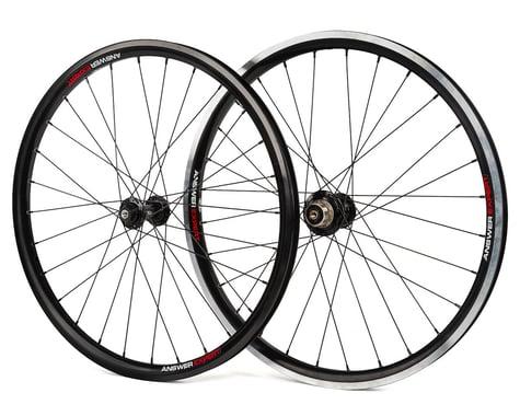 """Answer Holeshot Expert Wheelset (Black) (24"""")"""
