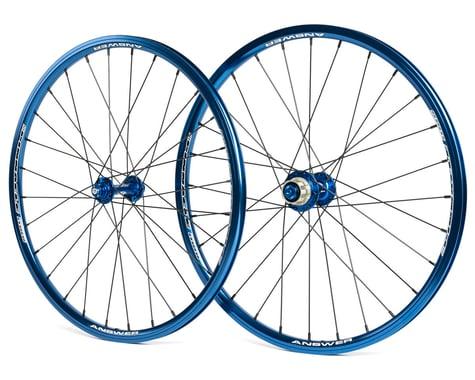 Answer Mini Holeshot Wheelset (Blue) (20 x 1-1/8)