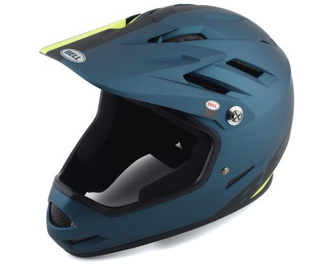Bell Sanction Helmet (Blue/Hi Viz) (XS)