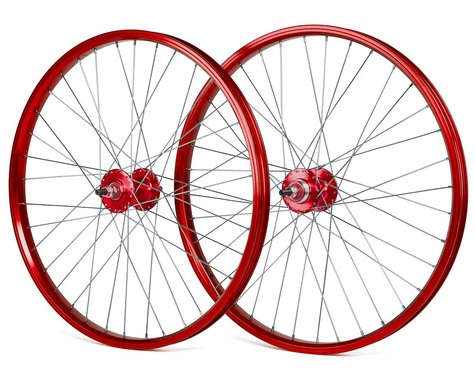 """Black Ops DW1.1 24"""" Wheels (Red/Silver/Red) (24 x 1.75)"""