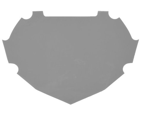 Box Number Plate Decal (Grey) (S)