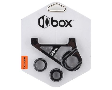 Box One BMX Disc Brake Adaptor Sliding Dropout (10mm) (Black)