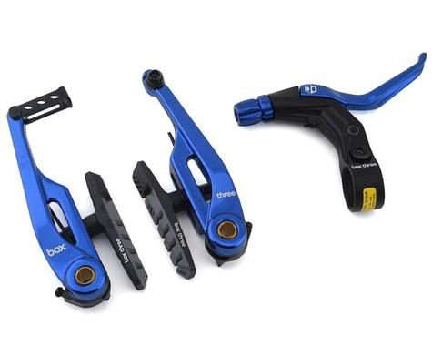 Box Brake Caliper Box Three V W/Lever (Blue) (108mm)