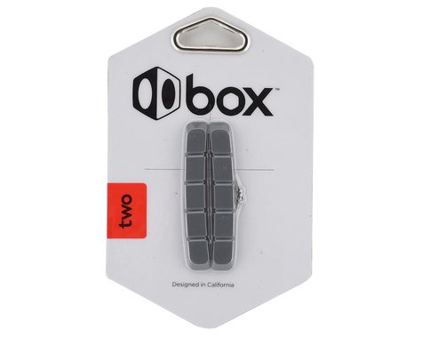 Box Two Replacement Brake Pads (70mm) (Grey)