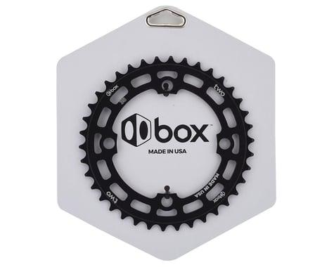 Box Two 4-Bolt Chainring (Black) (38T)