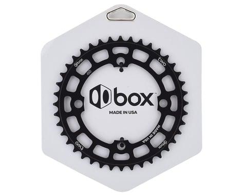 Box Two 4-Bolt Chainring (Black) (40T)