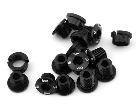 Box Components Spiral 7075 Alloy Chainring Bolt Kit (Black) (15pk)