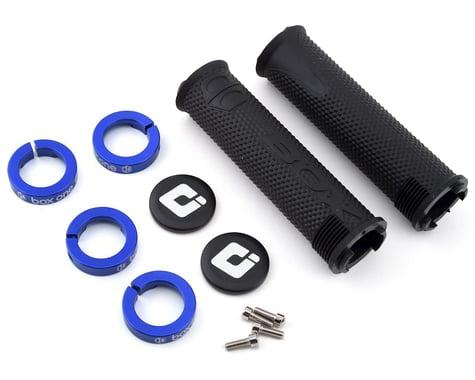 Box One Lock-On Grips (Black/Blue)