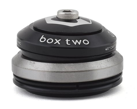 """Box Two Sealed Tapered Integrated Headset (Black) (1-1/8 to 1.5"""")"""
