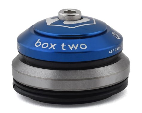 """Box Two Sealed Tapered Integrated Headset (Blue) (1-1/8 to 1.5"""")"""