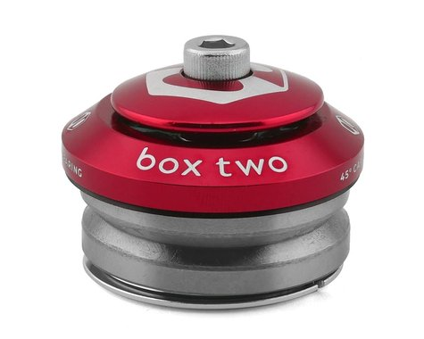 """Box Two Sealed Integrated Headset (Red) (1-1/8"""")"""