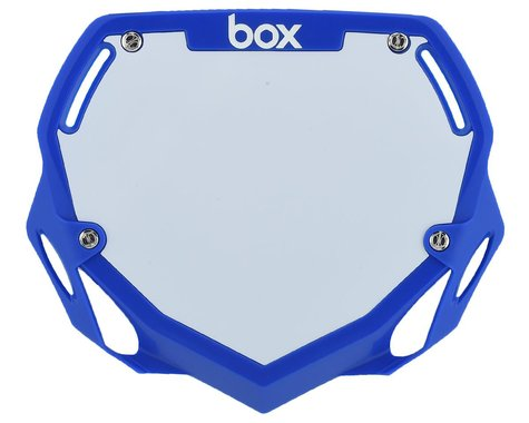 Box Two Number Plate (Blue) (L)