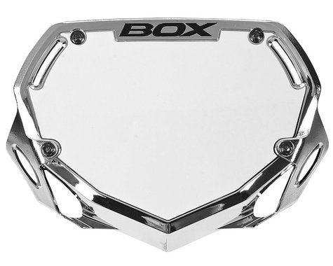 Box Two Number Plate (Chrome) (S)