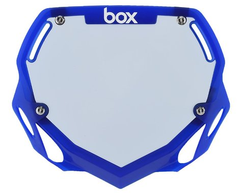 Box Two Number Plate (Translucent Blue) (L)