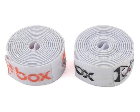 "Box Components Radian Rim Straps (White) (20"") (2) (14mm)"