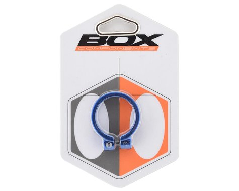 Box Helix Fixed Seat Clamp (Blue) (34.9mm)