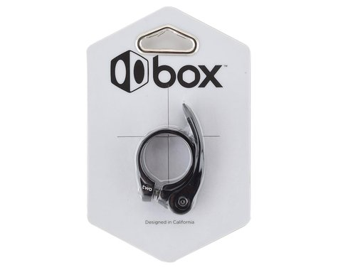 Box Two QR-1 Quick Release Seat Clamp (Black) (31.8mm)