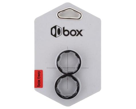 "Box Two Stem Spacer Kits (Black) (5) (1-1/8"")"