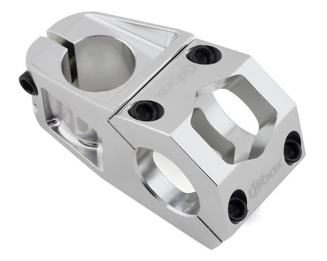 """Box Delta Top Load Stem (Silver) (1-1/8"""") (31.8mm Clamp) (53mm)"""