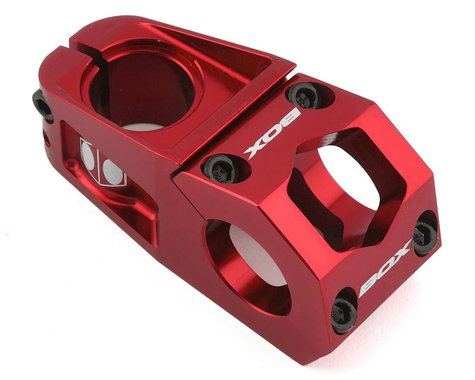 """Box Delta Top Load Stem (Red) (1-1/8"""") (31.8mm Clamp) (60mm)"""