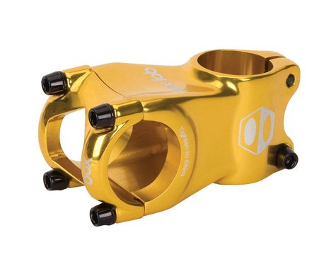 "Box BMX Stem (28.6mm Clamp) (1"") (Gold) (40mm)"