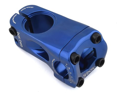 """Box Two Front Load Stem (Blue) (1-1/8"""") (48mm)"""