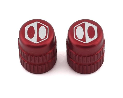 Box Schrader Valve Cap (Red)