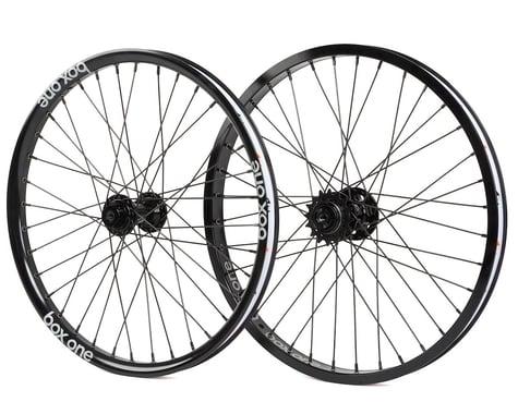 "Box Three BMX Wheelset with Rear Disc Hub (406mm) (20"") (Black)"