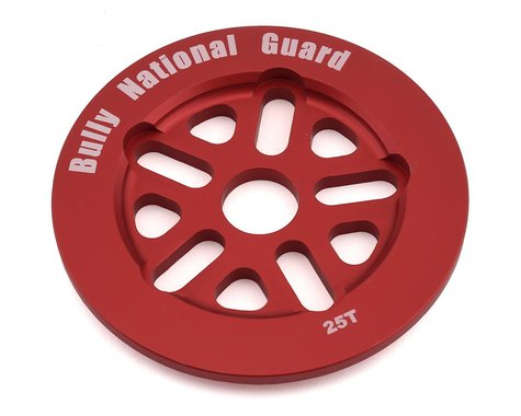 Bully National Guard Sprocket (Red) (25T)