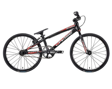 "CHASE 2021 Edge 18"" Micro BMX Bike (Black/Red) (16.25"" Toptube)"